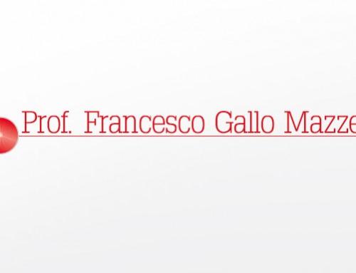 Contributo Critico Prof. Francesco Gallo Mazzeo
